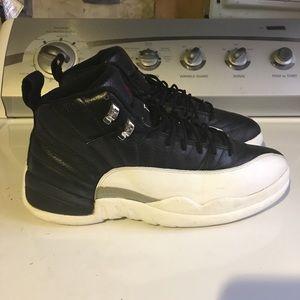 ea922e9b8aa4 Jordan Shoes - Air Jordan Retro 12 Playoffs   Black